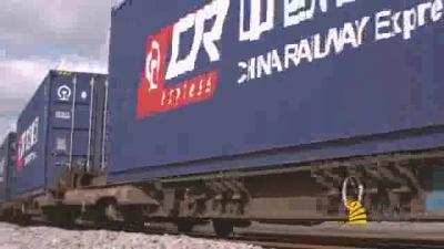 """中国梦展播——《丝路微纪录》之""""一带一路""""特别节目:出发吧,班列"""