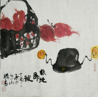 《反腐倡廉水墨画》系列