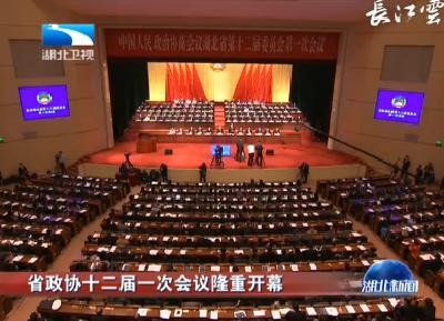V视 | 省政协十二届一次会议隆重开幕