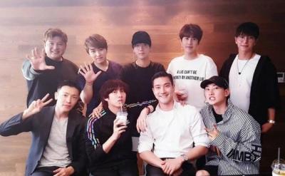 与SJ合体同台表演? 韩庚工作室发声明