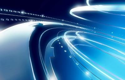 科技感背景素材 道路