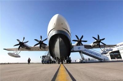 """燃炸!国产大飞机AG600将在湖北这个市上演""""水上首秀""""!"""