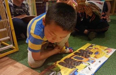 武汉小读者阅读迎接世界读书日