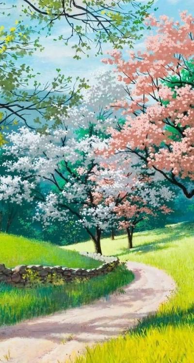 世上没有不弯的路,人间没有不谢的花