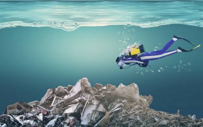 塑料垃圾已潜入海底一万米 吃海鲜等于吃塑料?