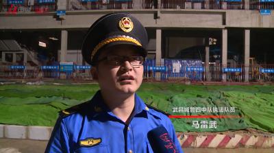 武汉城管全力为高考保驾护航