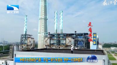 走看县域新气象 中韩石化的绿色气质:不让一滴污水流出 守护一片洁净蓝天