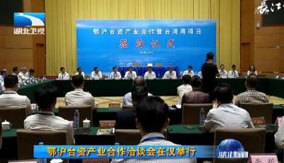 鄂沪台资产业合作洽谈会在汉举行
