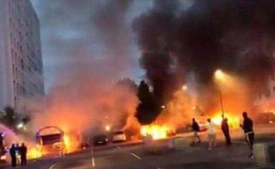 瑞典上百辆车毁于一夜