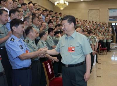 习近平在中央军委党的建设会议上强调 全面加强新时代我军党的领导和党的建设工作 为开创强军事业新局面提供坚强政治保证