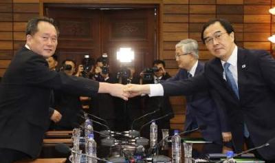 韩政府将拨款支持韩朝联办运营 为韩朝合作做贡献