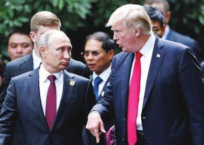 特朗普签署行政令制裁俄罗斯 涉及33名个人和实体