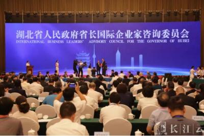 湖北省省长国际企业家咨询委员会成立,王晓东亲自为这7人颁发聘书!