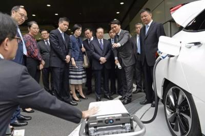 王晓东率团成功访问日本 深化互利合作 促进共同发展