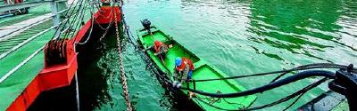 生态港口耀峡江