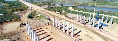 江北东高速进入全线施工阶段