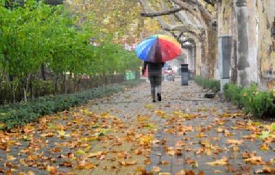 这个周末,武汉降雨降温
