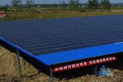 既能发电还能生产生物肥 来看看襄州这一厂房怎样一棚多用?