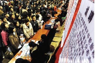 221家企业供岗近9000 企业为留汉大学生开80万年薪