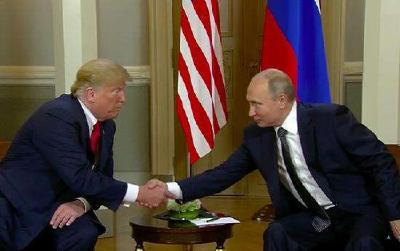 不容易!俄美首脑一战结束纪念百年活动简短交谈