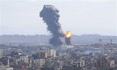 巴武装组织袭击以色列南部 以军打击加沙多地目标
