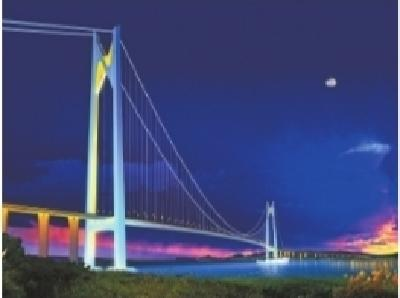 武汉设计国内最大跨度大桥开工 南京仙新路过江通道1760米一跨过江