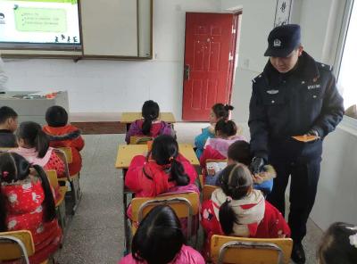 沙洋公安进校开设儿童防性侵第二课堂