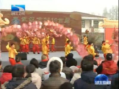 V视 | 武汉市首届迎春花市今天开幕