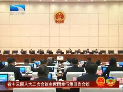 V视 | 湖北省十三届人大二次会议主席团举行第四次会议