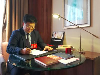 湖北省人大代表李雄文:实施乡村振兴战略推动高质量发展