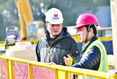 """地铁项目经理9个春节都在工地 """"只有在工地上心里才踏实"""""""