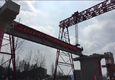 湖北省第五条城际铁路开始架梁  武仙城际铁路2020年9月通车
