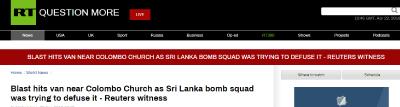 又一起!斯里兰卡教堂发生新爆炸 当时有官员正拆弹