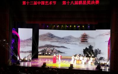 湖北大鼓《诗仙搁笔》亮相中国艺术节群星奖决赛