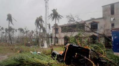 """热带气旋""""法尼""""袭击印度和孟加拉国致21人死"""