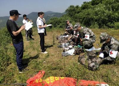襄阳市举行灾害应急救援演练