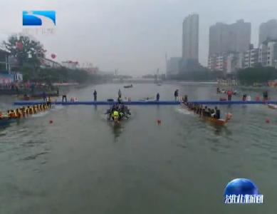 V视 | 2019中国龙舟公开赛在洪湖开赛