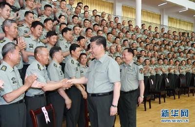 习近平:培养一茬茬、一代代合格的红军传人