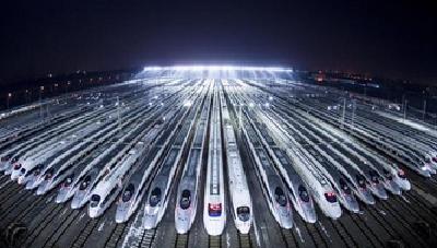 5月份武汉铁路局集团公司货运增长量全国第一