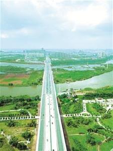 岱黄高速府河大桥改造完工  武汉北大门不再堵了