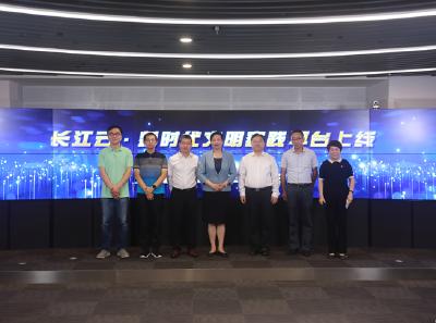 融在云中 全國網技聯年會代表在長江云參觀研討