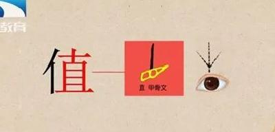 漢字解密|價值 : 漢字角度看人的價值