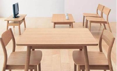 无印良品家具上黑榜:胡桃木 实为胶合板