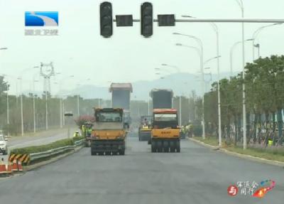 V视 | 与军运会同行 武汉木兰大道:事故多发路变身美丽乡村带