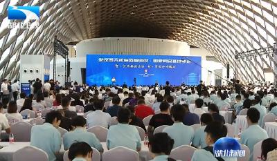 V视 | 新时代 新作为 新篇章 45个项目集中签约落户武汉临空港经开区