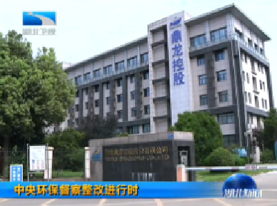 V視 | 中央環保督察整改進行時 罰款300萬元 武漢嚴厲查處排污企業