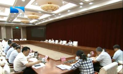 V视 | 王晓东在省政府专题会议上强调 高水平谋划高效率落实高质量建设 全力打造重大项目谋划建设升级版