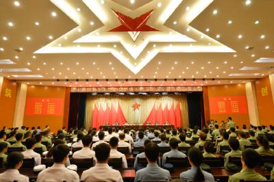 第七届世界军人运动会解放军代表团成立!