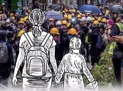 一个香港孩子问妈妈:我是警察的孩子,有错吗?