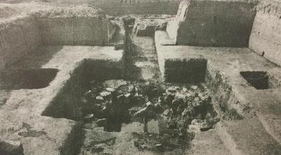 大揭秘|先秦时期中山国古墓发掘现场
